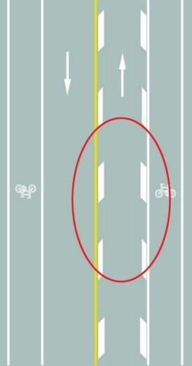 路面上的菱形块虚线是何含义?A、车行道纵向减速标线B、道路施工提示标线C、车行道横向减速标线D、车道变少提示标线答案是A