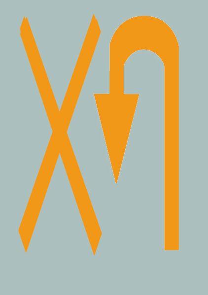 路面上的黄色标记是何含义?A、禁止转弯B、禁止掉头C、允许掉头D、禁止直行答案是B