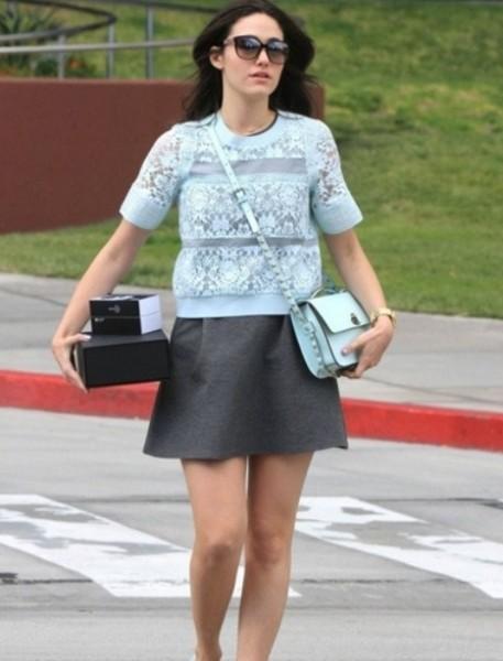 """时尚女星示范春夏穿什么 短打下装是""""高""""分穿衣关键"""