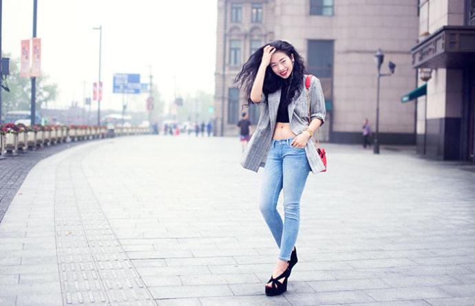 【雌和尚时尚手记】穿Levis牛仔裤要拥有马甲线吗? - toni雌和尚 - toni 雌和尚的时尚经
