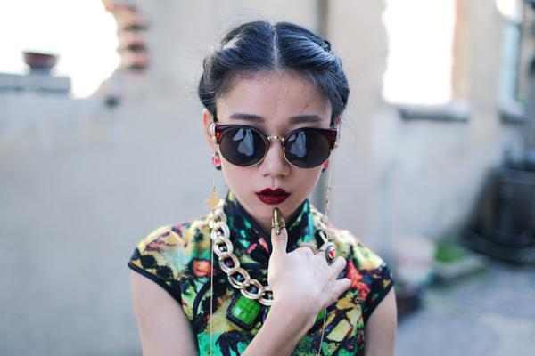 【Ava搭配日记】长款旗袍穿出时尚感 - AvaFoo - Avas Fashion Blog