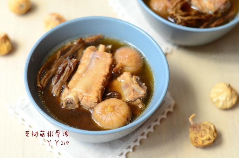 适合春季健脾养肝的鲜汤——【茶树菇排骨汤】 - 慢美食 - 慢 美 食