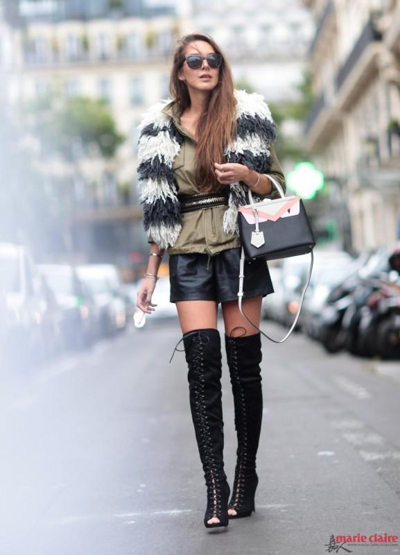 """大衣外穿展现任性美 Fashion就要""""闷""""着来 - 嘉人marieclaire - 嘉人中文网 官方博客"""