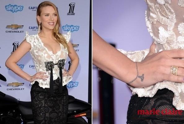 学女星都这么秀纹身 你也能时髦的抓住夏天的尾巴 - 嘉人marieclaire - 嘉人中文网 官方博客