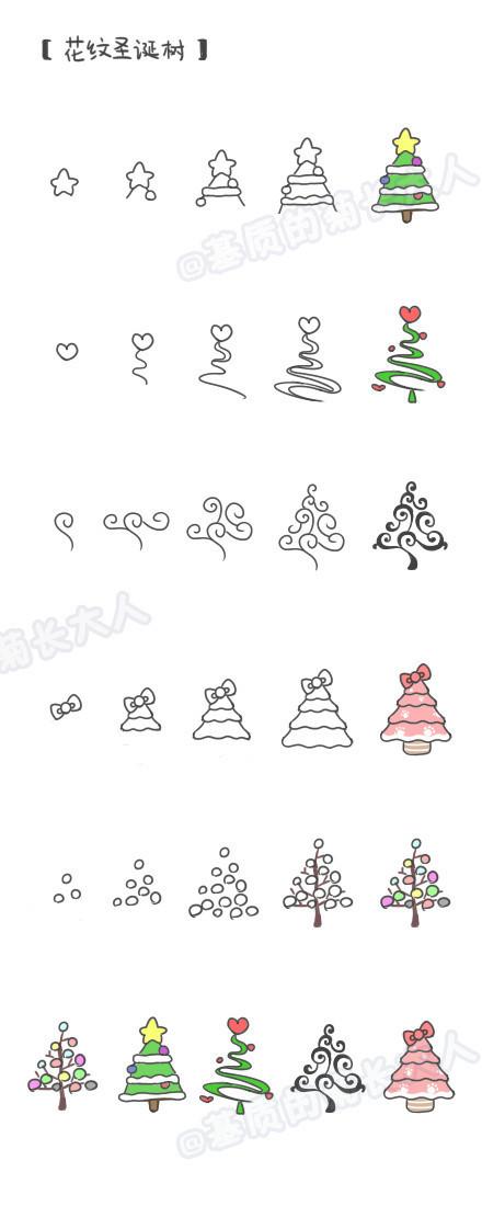 转载超萌超可爱的圣诞节小插画 - yqy - LILY英语玉泉营