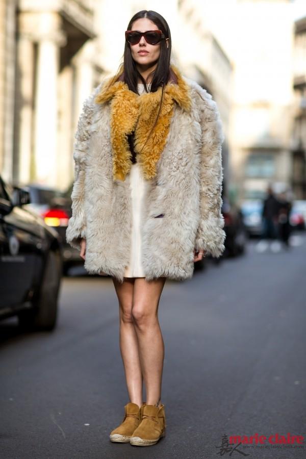 """你衣橱中的入流装备是时候""""长毛""""了! - 嘉人marieclaire - 嘉人中文网 官方博客"""