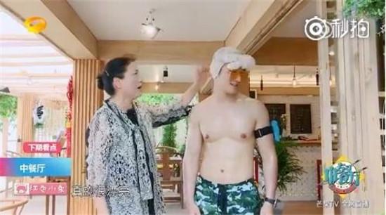 黄晓明录真人秀曾经诱人8块肌消失遭吐槽:肌肉也可以P?