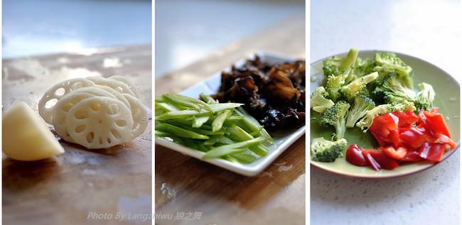 五彩小炒 - 慢美食博客 - 慢美食博客 美食厨房