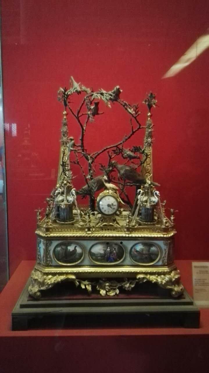 故宫钟表馆那些精美展品 - 余昌国 - 我的博客