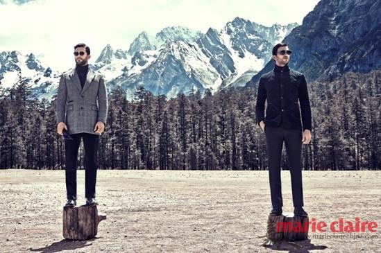 超模示范一件外套休闲商务两穿 - 嘉人marieclaire - 嘉人中文网 官方博客