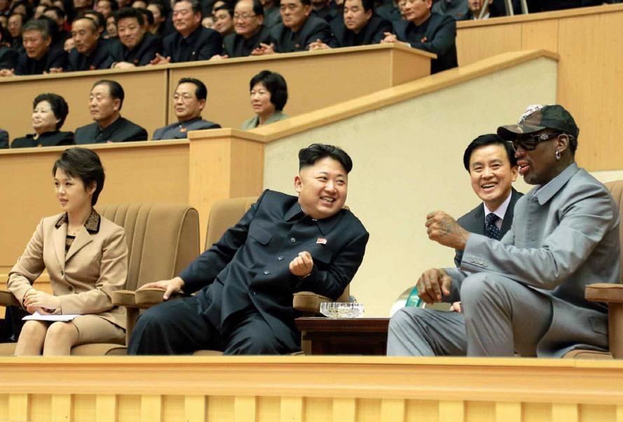穿中山装的罗德曼越来越像朝鲜干部(组图) - 遇果林 - 遇果林-原生态博客