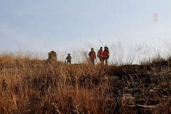 【原创摄影】山野冬景2:孟梁台 - 古藤新枝 - 古藤的博客