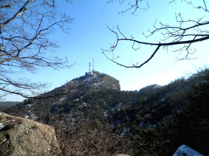 【原创摄影】山野冬景4: 鲁山 - 古藤新枝 - 古藤的博客