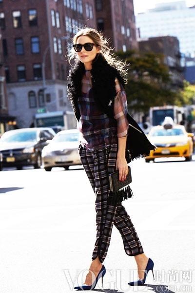 跟明星学做冬日里的小清新 - VOGUE时尚网 - VOGUE时尚网