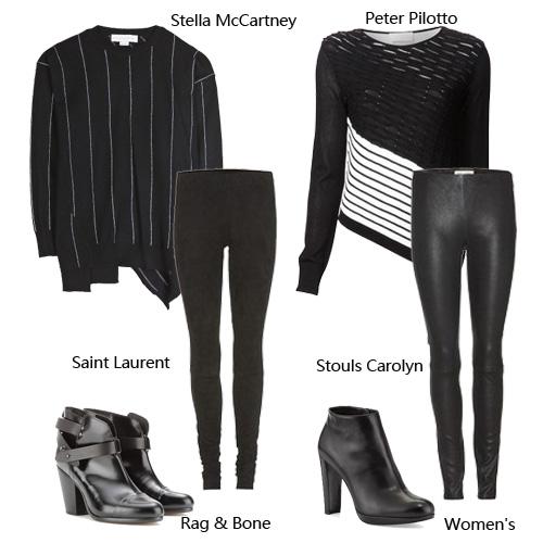 超模示范皮裤百搭style - VOGUE时尚网 - VOGUE时尚网