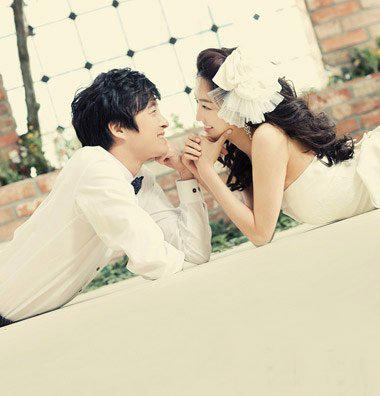婚纱情侣头像 爱情终于结出了果实 你是我一辈子的爱
