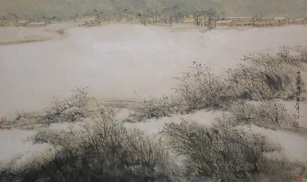 山水展在鼎天美术公馆图片
