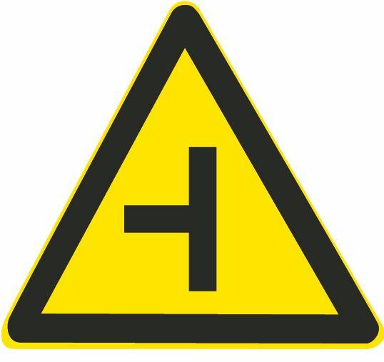 这属于哪一种标志?A、警告标志B、指路标志C、指示标志D、禁令标志答案是A