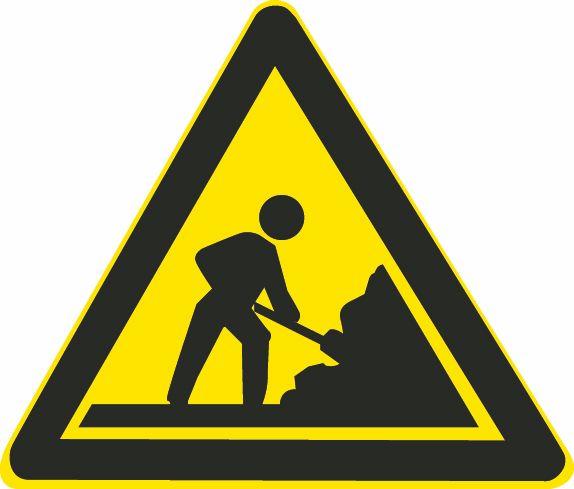 这个标志是何含义?A、塌方路段B、施工路段C、前方工厂D、道路堵塞答案是B