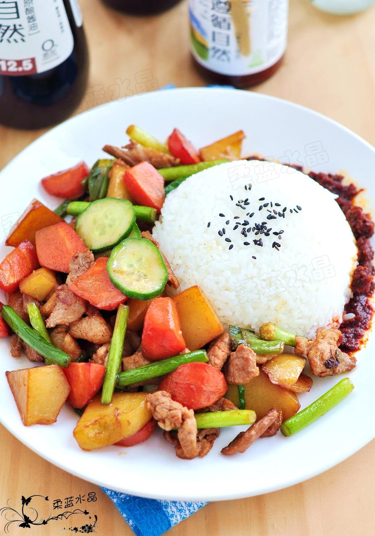 土豆视频空间_饭菜一盘端——土豆烧肉盖饭-柔蓝水晶的空间-搜狐博客