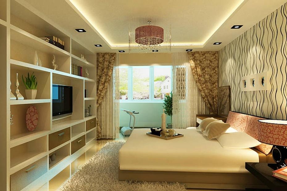 裝飾裝修-60平米老房改造裝修方案效果圖-臥室設計