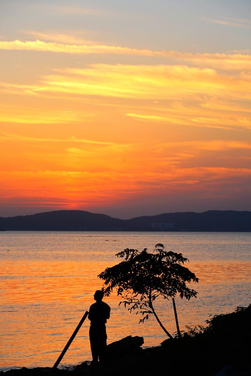 高速路免费通行时间_实拍:东山岛上看太湖日落西山【好想去旅行】-龙之血脉-搜狐博客