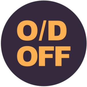 O/D擋指示燈