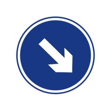靠右側道路行駛