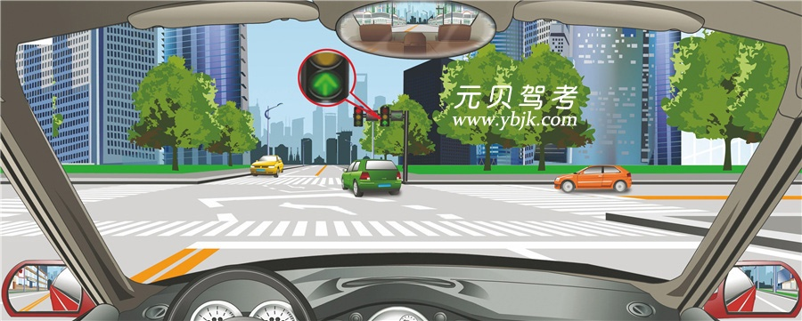 图中是注意行人标志_2021考驾照色盲测试图