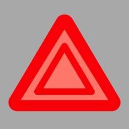 机动车发生故障时,(如图所示)闪烁。