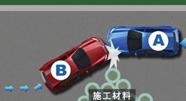 遇到障礙的車輛未讓行