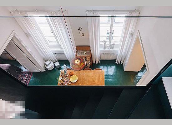 時尚復式小公寓-91平復式后現代風格裝修案例
