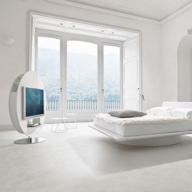 時尚家居設計,360度可旋轉電視柜