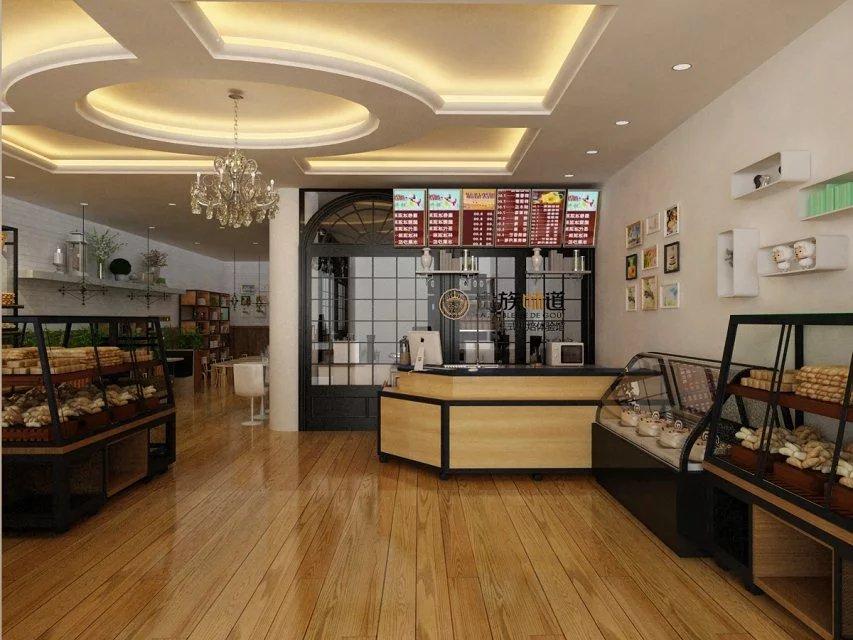 10平米烘焙店裝修圖片