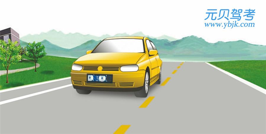 這輛在道路上行駛的機動車有下列哪種違法行為?A、逆向行駛B、未按規定懸掛號牌C、故意遮擋號牌D、占用非機動車道答案是C