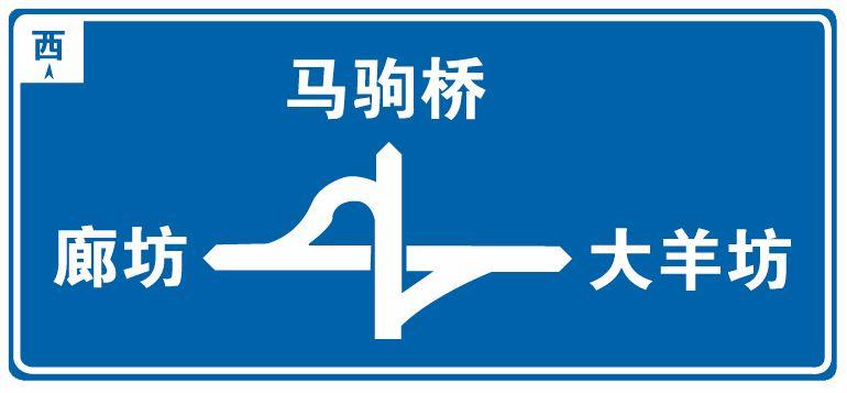 这个标志是何含义?A、十字交叉路口预告B、互通式立体交叉预告C、Y型交叉路口预告D、环行交叉路口预告答案是B