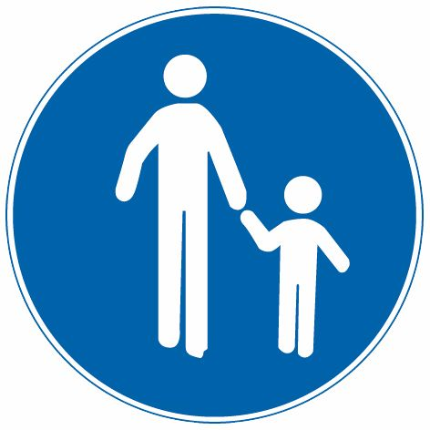 這個標志是何含義?A、低速行駛B、注意行人C、行人先行D、步行答案是D