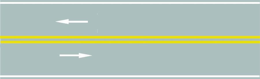 路中心的雙黃實線作用是分隔對向交通流,在保證安全的前提下,可越線超車或轉彎。答案是錯