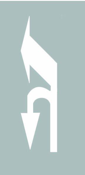 这个导向箭头是何含义?A、指示前方可直行或向左变道B、指示前方可直行或左转C、指示前方可直行或掉头D、指示前方可左转或掉头答案是D