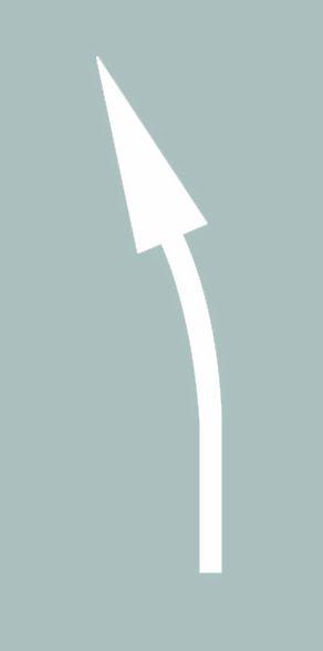 這個導向箭頭是何含義?A、提示前方有左彎或需向左合流B、提示前方有右彎或需向右合流C、提示前方右側有障礙需向左合流D、提示前方有左彎或需向左繞行答案是A