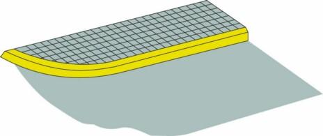 路緣石上的黃色實線是何含義?A、僅允許上下人員B、僅允許裝卸貨物C、禁止長時間停車D、禁止停放車輛答案是D