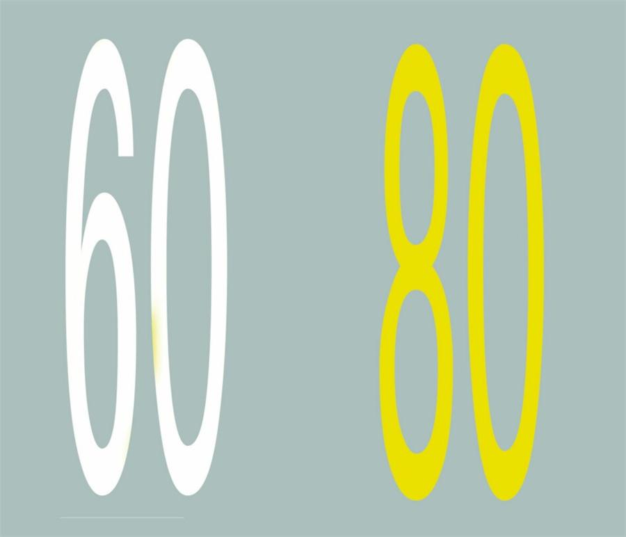 這個路面數字標記是何含義?A、保持車距標記B、最小間距標記C、速度限制標記D、道路編號標記答案是C
